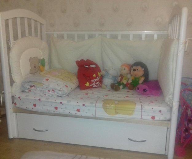 Детская кроватка с маятником алита6. Фото 1. Нижний Новгород.