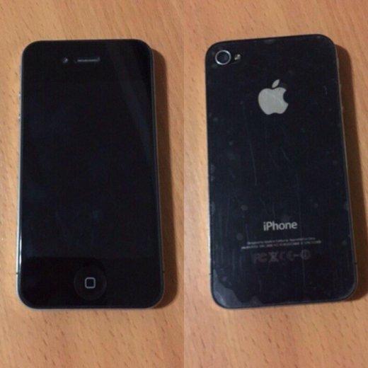 Продам заблокированный айфон 4 на 8 гиг.. Фото 1.
