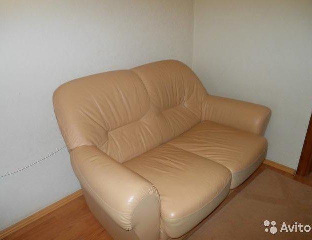 Диван и кресло кожаные. Фото 4. Екатеринбург.