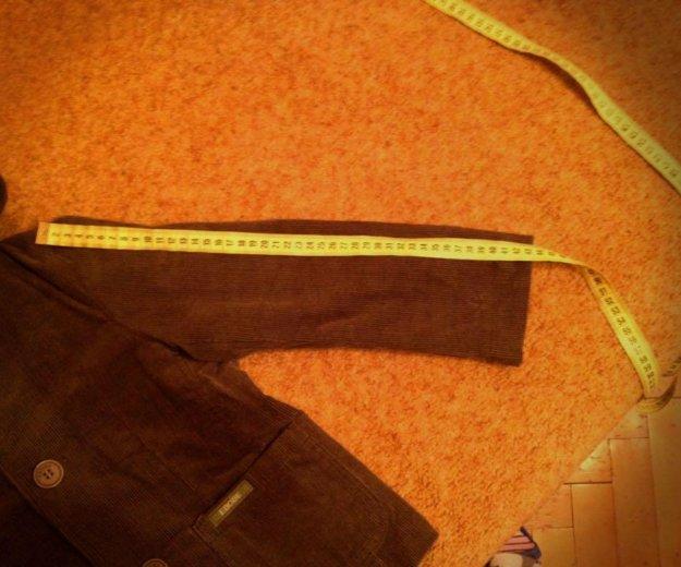 Вельветовый пиджак на 120 рост. Фото 2. Москва.