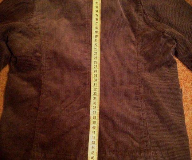 Вельветовый пиджак на 120 рост. Фото 3. Москва.