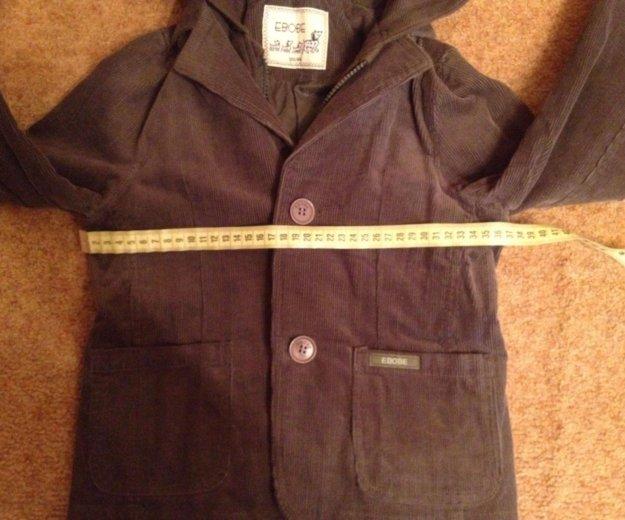 Вельветовый пиджак на 120 рост. Фото 4. Москва.