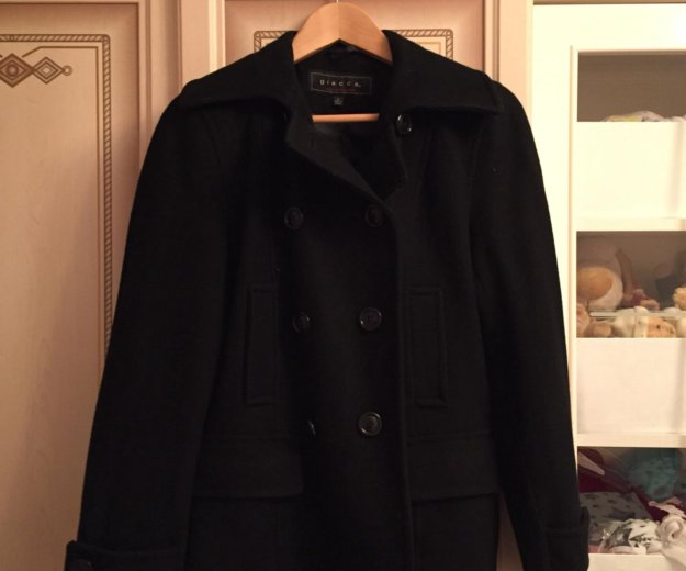 Осеннее шерстяное пальто giacca. Фото 2. Первомайский.