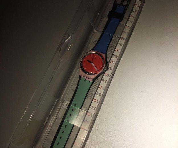 Часы новые swatch. Фото 2.