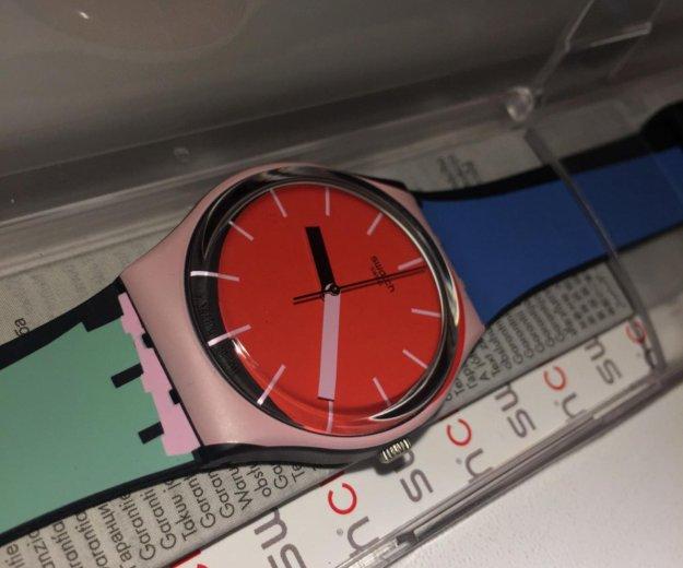 Часы новые swatch. Фото 3.