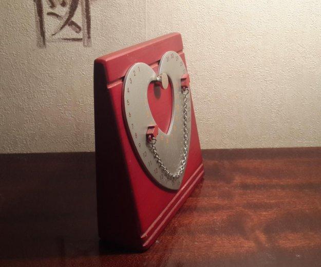 Сувенир. магнитный календарь. сердце. Фото 2.