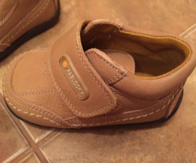Детские ботиночки 19 размер. Фото 2. Новороссийск.