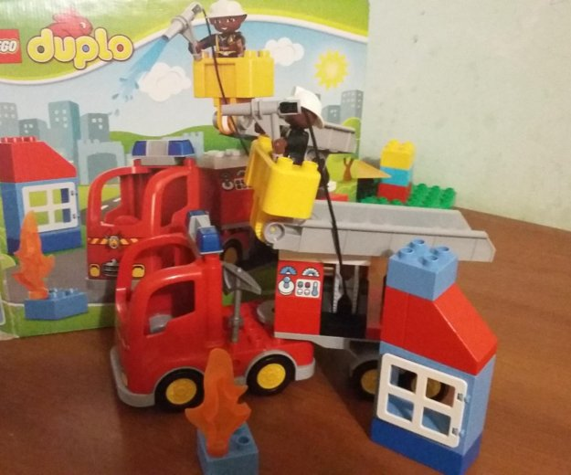 Лего duplo пожарная машина. Фото 1. Сочи.