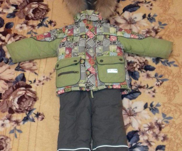 Зимняя куртка комбинзон на мальчика. Фото 2. Волгоград.