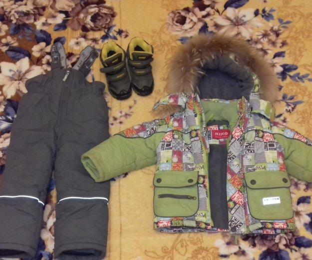 Зимняя куртка комбинзон на мальчика. Фото 3. Волгоград.