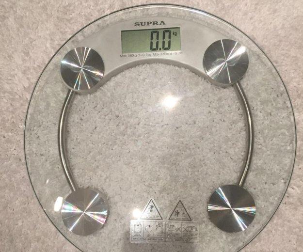 Весы напольные supra. Фото 1.