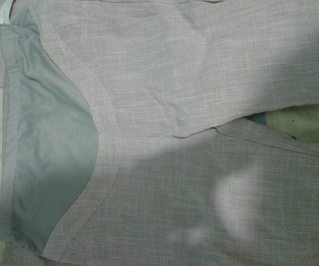 Льняные брюки для ьеременной. Фото 1. Орск.