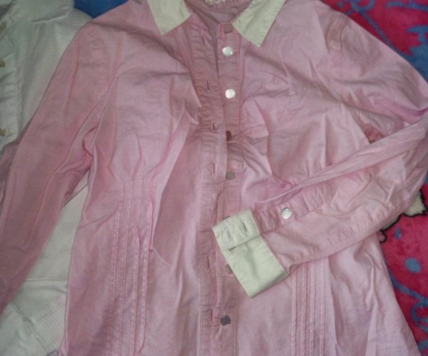 Блузки, рубашки в школу. Фото 2.