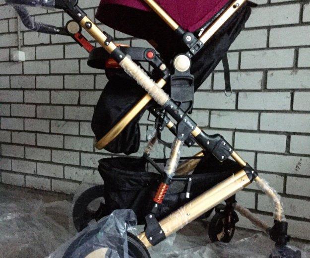 Детская коляска-трансформер jiaobei 2 в 1. Фото 4. Тюмень.