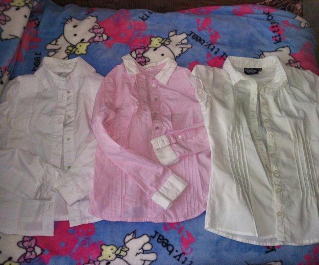 Блузки, рубашки в школу. Фото 4.