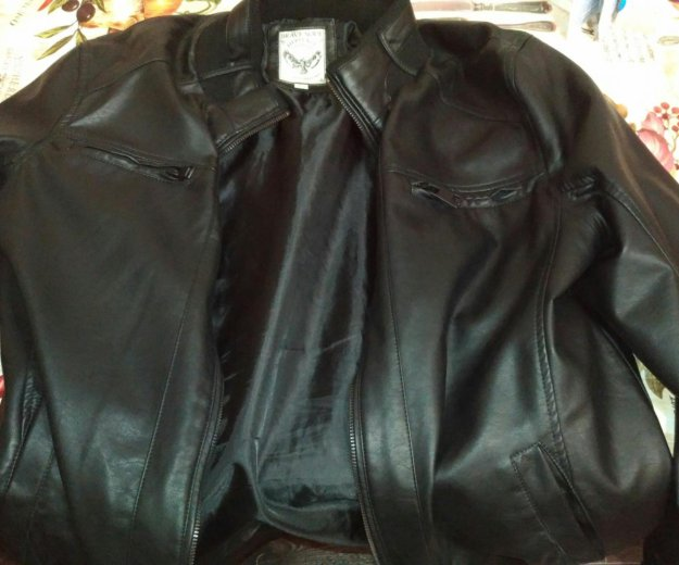 Куртка из кожзама. Фото 1. Краснодар.