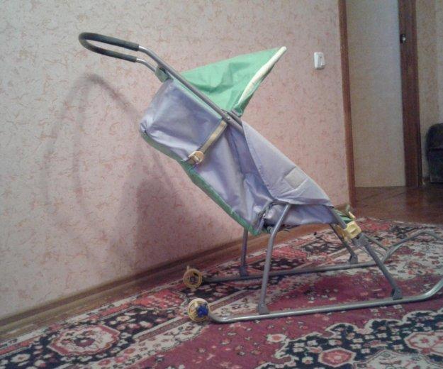 Санки-коляска. Фото 4. Саратов.