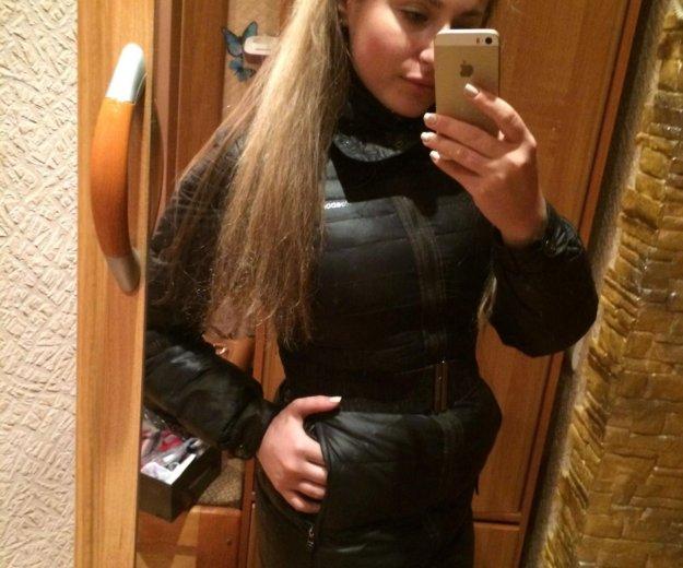 Пуховое пальто  reebok оригинал. Фото 1. Люберцы.
