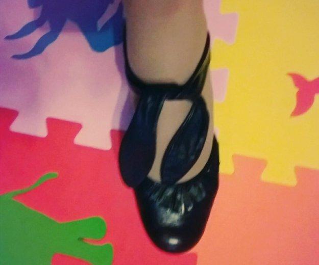 Туфли из натуральной кожи. Фото 1. Серпухов.