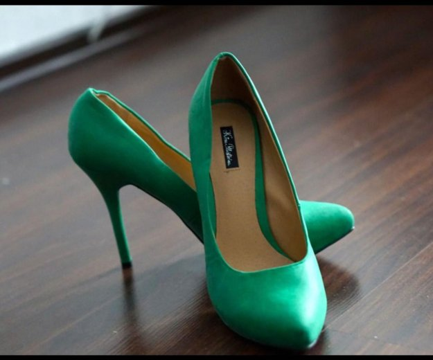 Туфли зеленые. Фото 1. Москва.