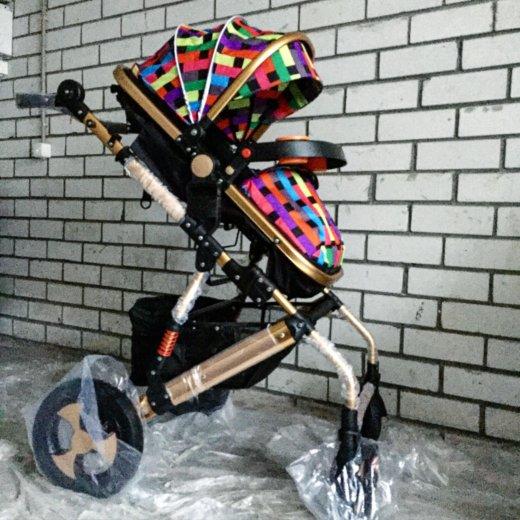 Детская коляска-трансформер jiaobei 2 в 1. Фото 1. Тюмень.