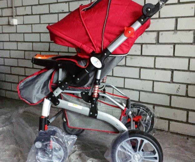 Детская коляска-трансформер jiaobei. Фото 2. Тюмень.