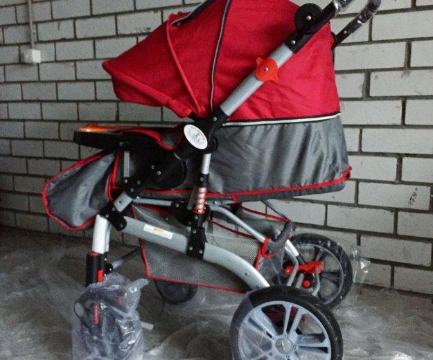 Детская коляска-трансформер jiaobei. Фото 3. Тюмень.