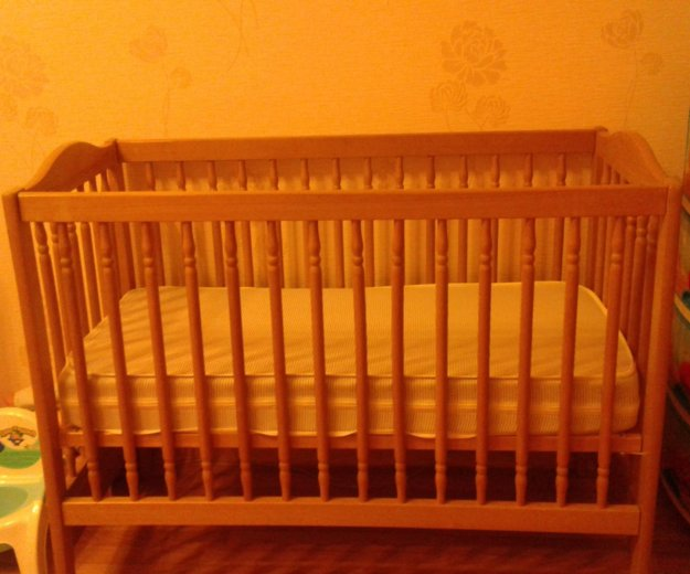 Детская кроватка. Фото 1. Троицк.