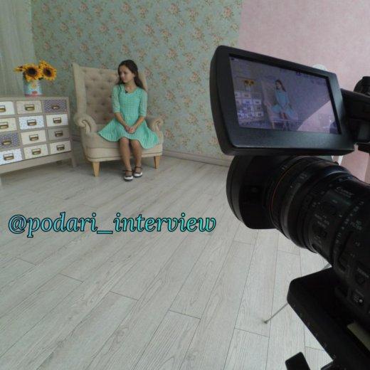 Видео интервью. Фото 1. Москва.
