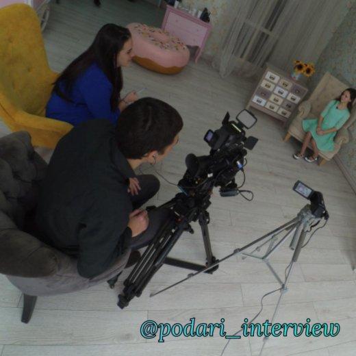 Видео интервью. Фото 2. Москва.