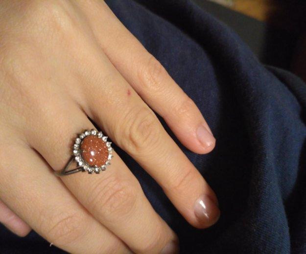 Кольцо и бусы с авантюрином. в подарок браслет. Фото 1. Москва.