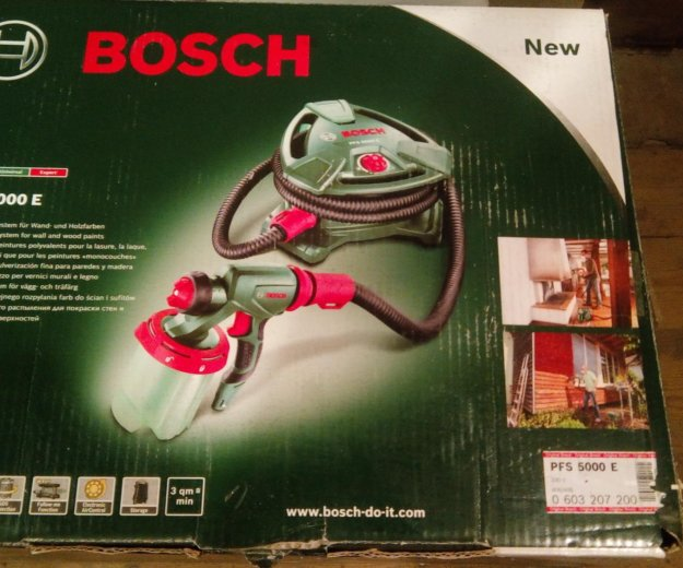 Краскопульт bosch pfs 5000e. Фото 4. Арзамас.