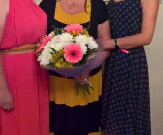 Платье розовое в пол. Фото 1. Хабаровск.