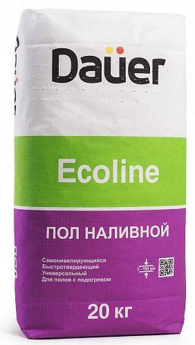 Наливной пол dauer eсoline (торг уместен). Фото 1.