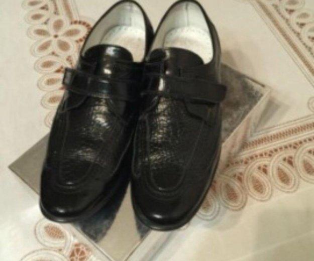 Туфли из крокодиловый кожи. Фото 2. Саратов.