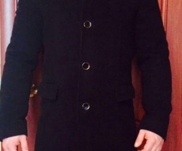 Мужское приталенное пальто. Фото 1. Москва.