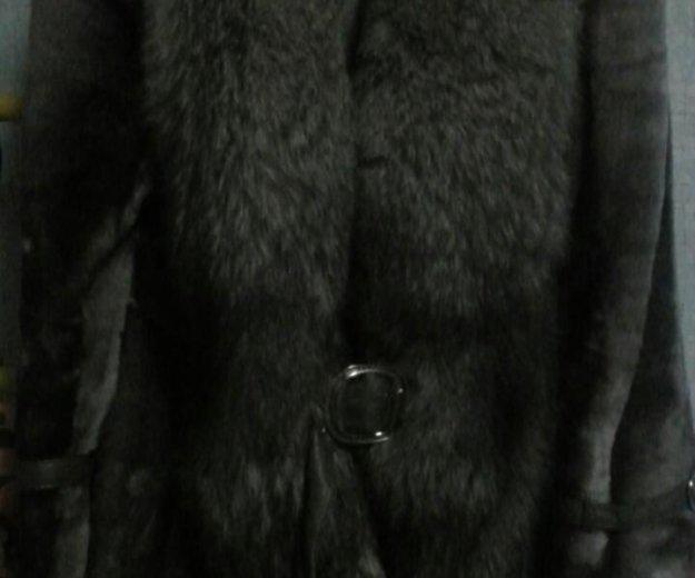 Шуба мутон воротник писец. Фото 2. Нижний Новгород.