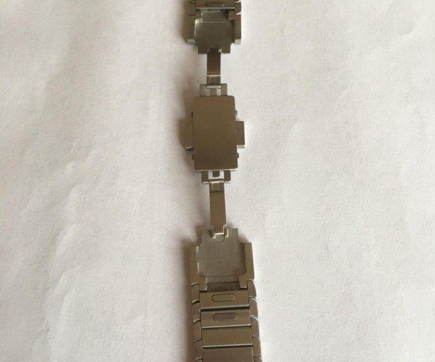 Блочный браслет для apple watch 42 mm. Фото 1. Москва.