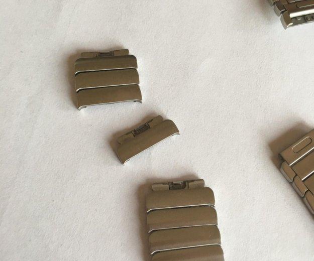 Блочный браслет для apple watch 42 mm. Фото 3. Москва.