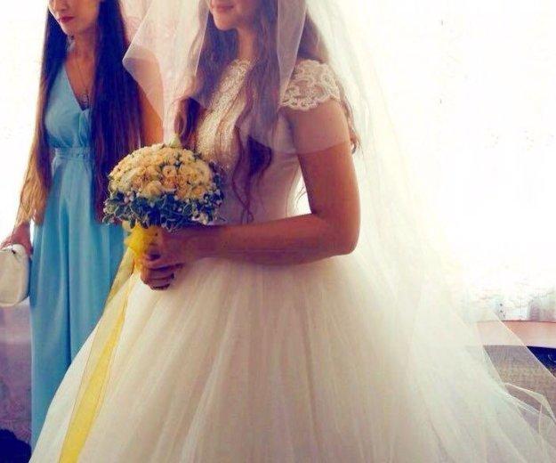 Свадебное платье. Фото 1. Нальчик.