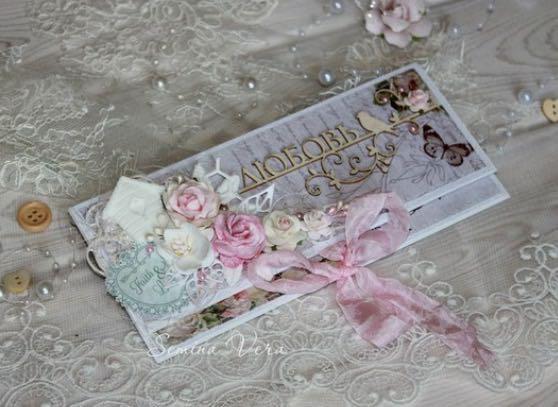 Конверт для денег ручной работы. Фото 3. Ставрополь.