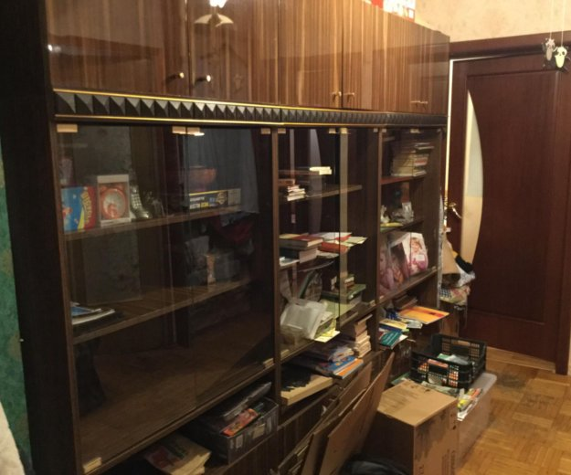 Книжный шкаф. Фото 1. Москва.