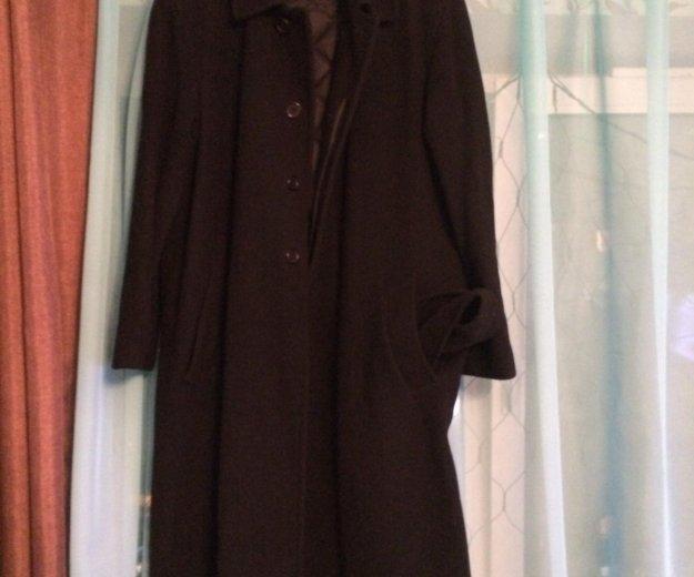 Пальто мужское, длинное, с утеплённой подстежкой. Фото 1. Санкт-Петербург.