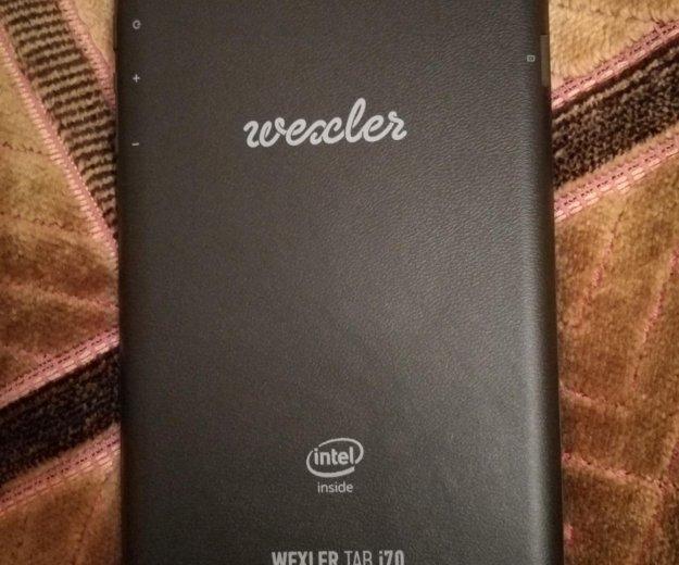 Планшет wexler tab i70 8gb с картой памяти 32гб. Фото 2.