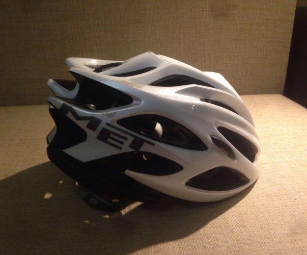 Велосипедный шлем met. Фото 2. Москва.