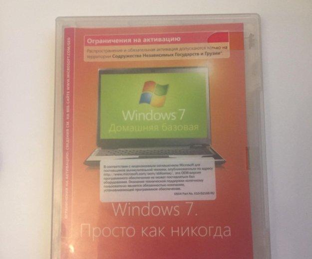 Windows 7 лицензия. Фото 1. Самара.