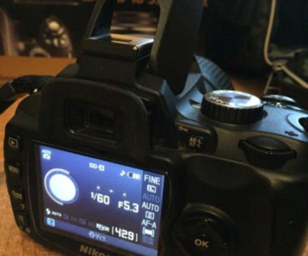 Цифровой фотоаппарат nikon d60. Фото 2. Москва.