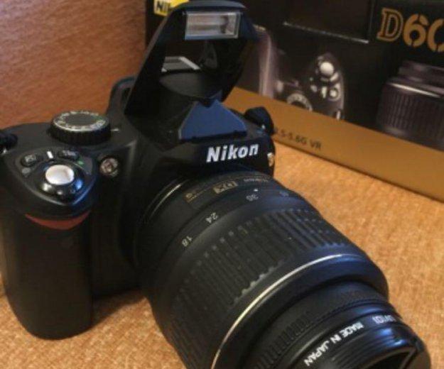 Цифровой фотоаппарат nikon d60. Фото 4. Москва.