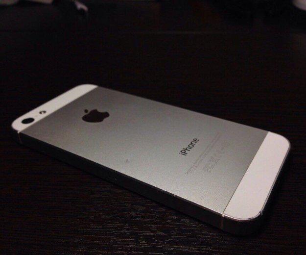 Продаю iphone 5 64gb серебряный. Фото 2.