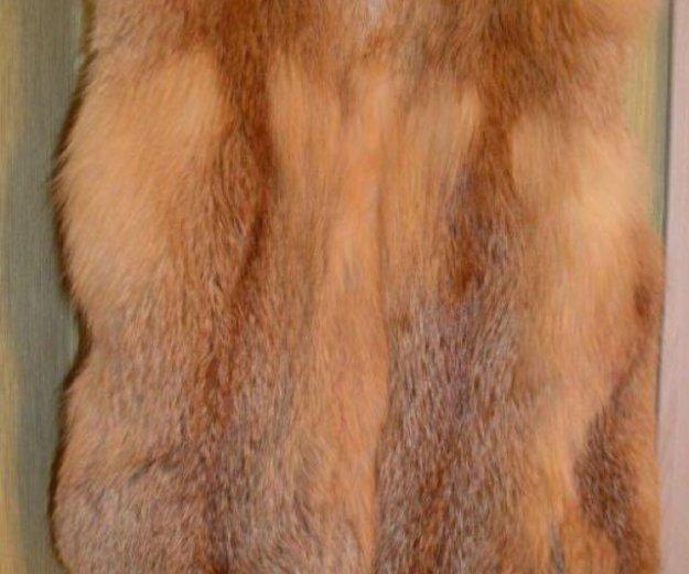 Меховой жилет. Фото 2.